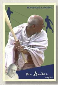 gandhi rookie card
